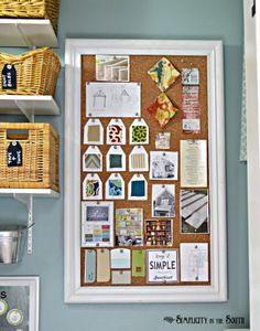 beautiful fusebox covers in art deco and art nouveau designs for bulletin board that covers the fuse box this small laundry room is big on organization ideas using baskets bins shelves along hidden storage makes