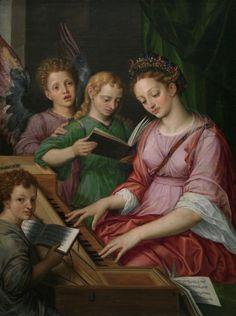 Santa Cecilia - Colección - Museo Nacional del Prado