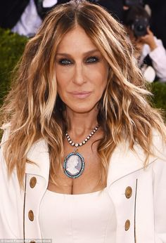 Meow: Sarah Jessica Parker bared her verbal claws after a blogger slated her Met Gala outf...