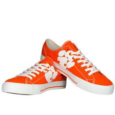 Clemson Tigers Row One Women's Oxford Lace-Up Sneakers