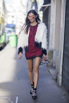 Coats, Jackets & Layering Street Fashion Autumn/Winter 2014 (Vogue.com UK)