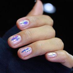 """#diamond #glassnails #unistella"" Photo taken by @nail_unistella on Instagram, pinned via the InstaPin iOS App! http://www.instapinapp.com (10/20/2015)"