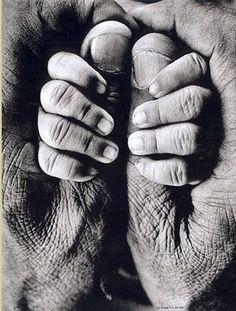 My Father and My Son, 1969 by Raghu Rai.