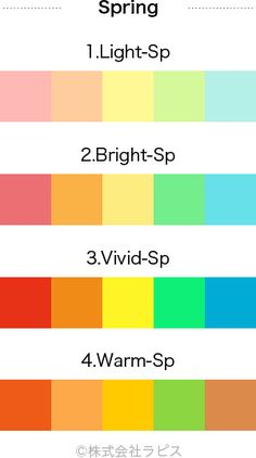 Bright Spring, Clear Spring, Warm Spring, Soft Summer, Spring Color Palette, Spring Colors, Skin Palette, Color Type, Colors For Skin Tone