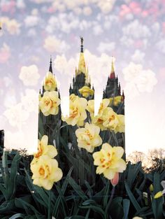 Salt Lake LDS Temple | Modern LDS Art | LDS Temple | LDS Temple Art | Double Exposure | LDS | | Mormon | Jessica's Photography | https://www.jessicaparkerprintshop.com |