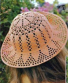 BIG artes - Blog: PRA VOCÊ: Chapéu de Crochet