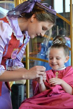 "The Princess ""Experience"" at Bibbidi Bobbidi Boutique in Downtown Disney, Walt Disney World Resort Disney World Planning, Disney World Trip, Disney World Resorts, Disney Vacations, Family Vacations, Disney 2015, Disney Cruise Line, Disney Parks Blog, Disney Tips"