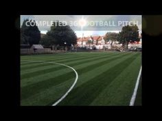 Costs Build Artificial Grass Football Pitch