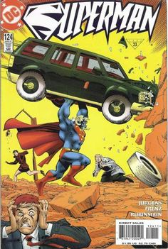 Cover of Superman by Ron Frenz and Joe Rubinstein Death Of Superman, Superman Comic, Superman Stuff, Action Comics 1, Image Comics, Comic Book Covers, Comic Books, Dc Heroes, Comic Character