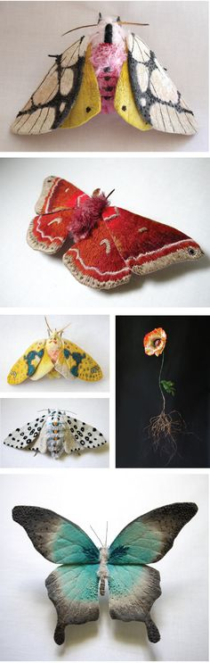 Yumi-Okita, a Japanese textile artist, now living in NC, USA....really amazing
