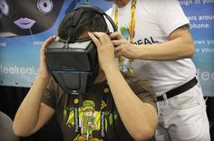 The gizmo recreating smells in VR looks like a nightmare
