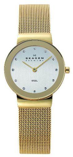 Dameur i guld med Swarovski detaljer. Få en super pris på dette ur - klik på billedet!