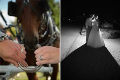 Thought this was a cute Mackinac Island shot with the Horse & Horseshoe Mackinac Weddings | Paul Retherford