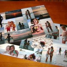 Photo Collage Place Mats