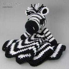 Ravelry: Zany Zebra Lovey pattern by Briana Olsen
