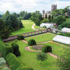Highclere Castle Monks Garden