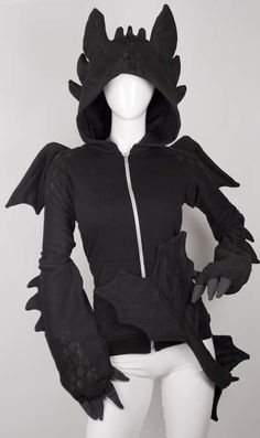 Cute Dragon Hoodie from Canada Cosplay. Shop more products from Canada Cosplay on Wanelo.