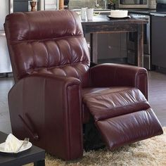 Palliser Furniture Thorncliffe Wall Hugger Recliner Upholstery: All Leather Protected - Tulsa II Bisque, Leather Type: Leather PVC/Match, Type: Power