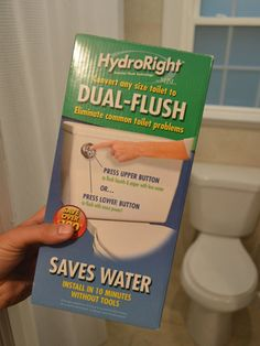 How To Save Money & Water By Installing A Dual Flush Toilet Kit (it's no hard, and it's cheap)