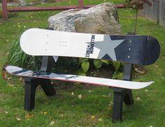 Snow Board Bench