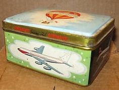 Braniff Airlines Tin