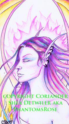 Faery Fantasy Art 2008/2009 -    PHANTOM'S  ROSE: the Fantasy Faery WORLD  of  Coriander Shea