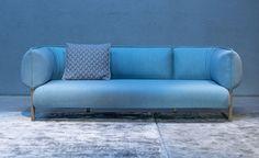 Patricia Urquiola upholsters modular sofa for Moroso in jersey fabric Patricia Urquiola, Art Furniture, Furniture Design, Funky Furniture, Danish Modern, Sofa Design, Interior Design, Modul Sofa, Italian Furniture Brands