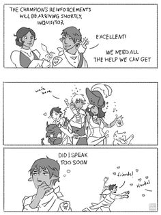 key-of-zee:  Keezy (x)The Inquisition Meets the Kirkwall Crew #1: Reinforcements