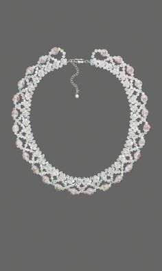 Single-Strand Necklace with Swarovski Crystal Beads, Glass Beads and Seed Beads - Fire Mountain Gems and Beads