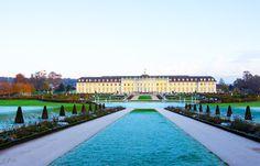 Ludwigsburg in Bildern: Residenzschloss Ludwigsburg  Das Residenzschloss i...