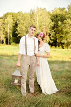 Love the rustic look to this portrait! | Ruffled