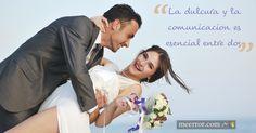 La #dulcura y la #comunicacion es esencial entre dos  meerror.com