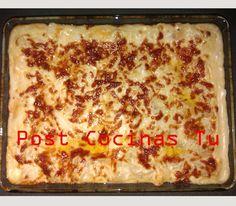 LASAÑA DE CARNE Y CHAMPIÑONES ~ Post Cocinas Tu