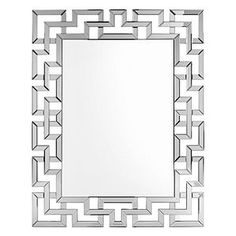 Put a finishing touch on your dream space - with a decorative mirror from Z Gallerie! Small, large, wall & floor mirror options available. Stylish Home Decor, Affordable Home Decor, Beautiful Mirrors, Mirror Door, Instagram Shop, Decoration, Living Room, Greek Key, Wall Decor