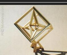 """Cube with 1 """"median tetrahedron"""" to show relationship between verticies"""