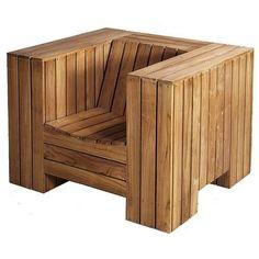 кресло производства мастера Мастер WOO или Декор из дерева на платформе Crafta. Купить хенд мейд кресло в Украине из первых рук.