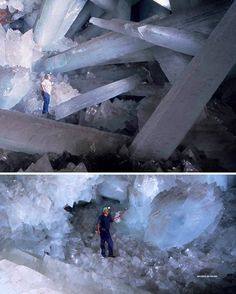 Crystal caves, Naica Mine, Mexico