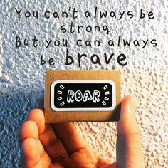 Courage doesn't always roar. Sometimes courage is the little voice at the end of the day that says I'll try again tomorrow. - Mary Anne Radmacher . It's hard to be adult, be brave... But let's us try again tomorrow? . . #brave #bebrave #roar #goodvibes #thegoodvibetribe #motivation #mondaymotivation #instagood #quoteoftheday #notetoself l