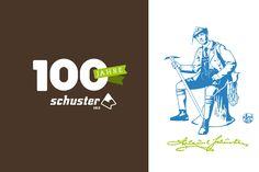 SPORTHAUS SCHUSTER / Kampagne zum 100. Jubiläum / #Konzept #Logo / by Zeichen & Wunder, München