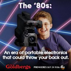 The Goldberg's - ahhh, I loved the and this show is awesome! Netflix Tv Shows, Movies And Tv Shows, Comedy Series, Tv Series, The Goldbergs, Tv Shows Funny, Crazy Ex, 80s Tv, Hooray For Hollywood