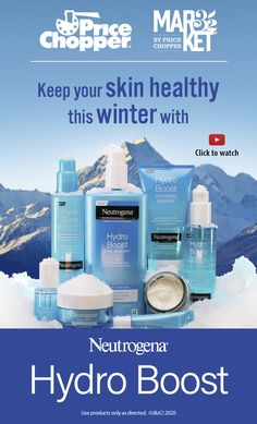 Keep your skin healthy this winter! Price Chopper, Healthier You, Neutrogena, Healthy Skin, Cleanser, Your Skin, Magazine, Winter, Winter Time