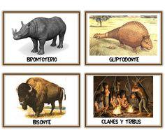 Recursos Infantiles: Proyecto Prehistoria Montessori Materials, Ancient History, Geography, Art For Kids, Moose Art, Education, Crafts, Dado, Plaza