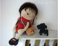 Amigurumi Crochet Doll -Leah by Rusi Dolls