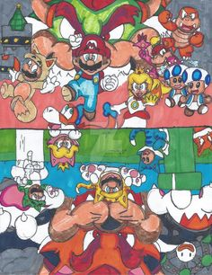 Super Mario 3D World Thing by MarioGamer2000