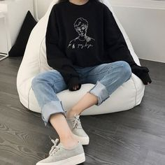Ideas For Fashion Drawing Shirt Products Asian Fashion, New Fashion, Girl Fashion, Vintage Fashion, Vintage Outfits, New Outfits, Fall Outfits, Fashion Outfits, Pretty Outfits