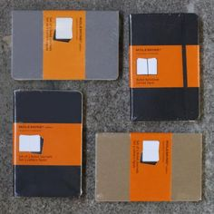 One can never have too many Moleskine notebooks.  I have them going back for years.  Sometimes I even get bold and organize my life by colors of Moleskine notebooks Moleskine Ruled Black Notebook Pocket : steve mckenzie's