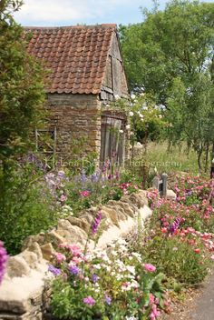 Pretty Swedish garden.