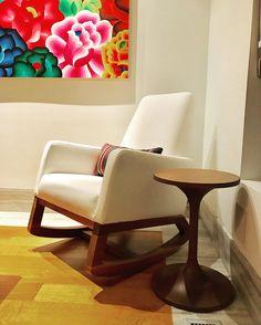 Modern Nursery Furniture, Furniture Design, Furniture Inspiration, Rocking Chair, Jet, Simple, Instagram Posts, Table, Room