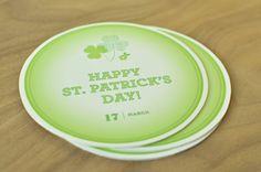 Free Printable St. Patrick coasters