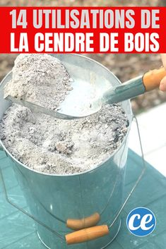 Cendres de Bois: 14 Verwendungen Secrètes Que Personne Ne Connaît. Cleaning Dust, House Cleaning Tips, Cleaning Hacks, Lego Basic, Clean Stove Top, Green Garden, Clean House, Frugal, Diy Furniture